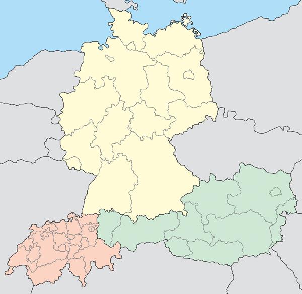 Karte Süddeutschland österreich Schweiz.Leinen Raumausstatter In Deutschland